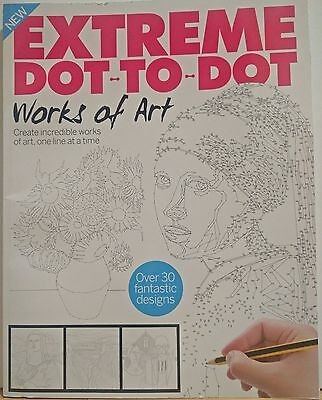 Extreme Dot to Dot Works of Art magazine RRP £5.99