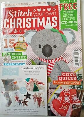 Stitch your own Christmas craft magazine