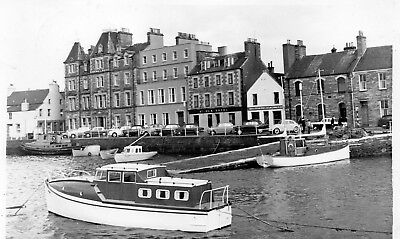Orkney Postcard. St. Ola Hotel, Kirkwall Hotel, and Quayside