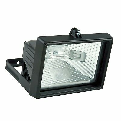 120W Black Outdoor Security Floodlight Wall Mounted  New Boxed  ***2 For 1****