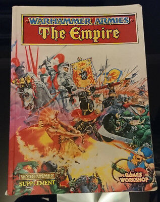 Vintage Warhammer Armies The Empire Book