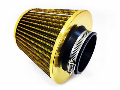 Universal yellow 3'' Replacement Air Filter with Clamp