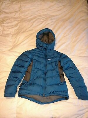 rab ascent womens ladies down jacket size 10