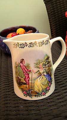 Attractive Vintage Jug For Milk Etc By Lord Nelson Pottery England c Mid 1950s