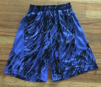 Nike Dri-Fit Men's Athletic Shorts Size Medium Blue/Black