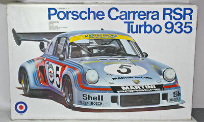 ENTEX 1/8th scale 'Martini' PORSCHE CARRERA RSR Turbo 935 model kit No.9040