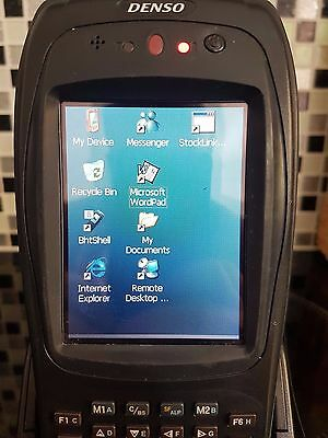 Denso BHT-280B-CE 200 WinCE HandHeld Computer / Scanner Charger and AC