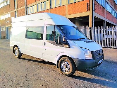 2013 Ford Transit TDCi 350 LWB LOW MILES 37,382 IDEAL CAMPERVAN PROJECT no VAT