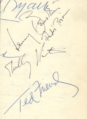 Leonard Bernstein - Signature(S) With Co-Signers