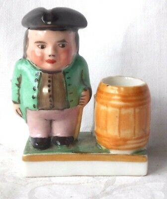 C19Th Toby Inkwell And Quill Holder