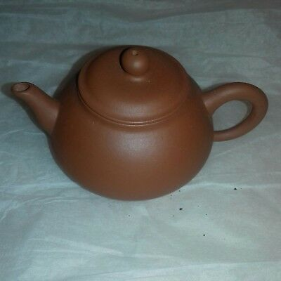 Miniature Chinese Yixing   Teapot