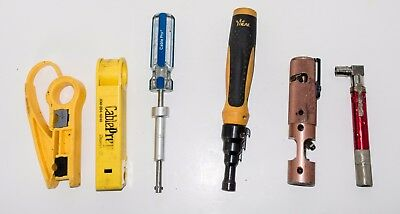 Ripley Cablematic CST 320/7C Coring Tool, Cable Pro GTT-7, Conduit Reamer,2 More
