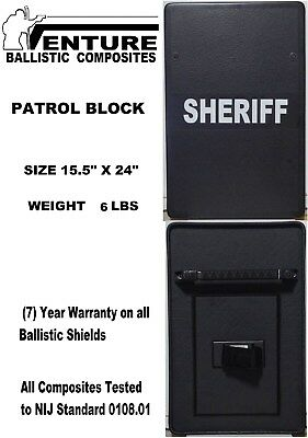 Patrol Block Ballistic shield