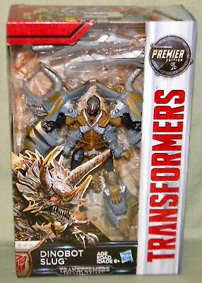 DINOBOT SLUG Transformers The Last Knight Deluxe Class Premier Edition 2017