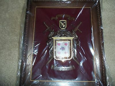 Halbert's Library Of Arms: OLSON Coat of Arms Crest Raised Picture Plaque