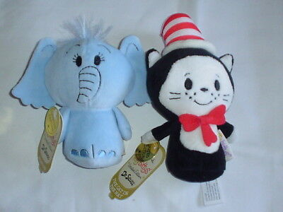 Hallmark Itty Bittys NWT Horton & Cat in the Hat Limited Editions