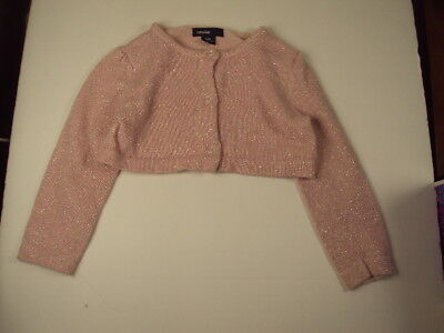BABY GIRL: Baby Gap Button Crew Cardigan Sweater, Size 12-18 Months - Light Pink