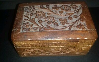 Antique Sewing Accessories Box