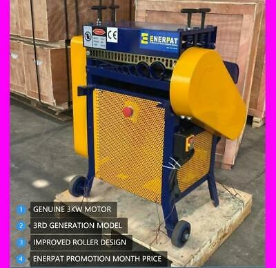 Enerpat- 3KW* SuperPower wire cable stripper,stripping machine, copper recycling