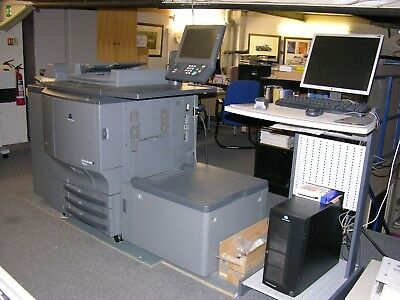 Konica Minolta Bizhub C6500e Production press powered by Creo IC-304