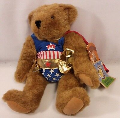 Vermont Teddy Bear Caramels complete companion supper hero key cape America Flag
