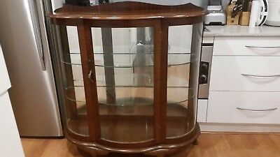 Antique Display China Cabinet