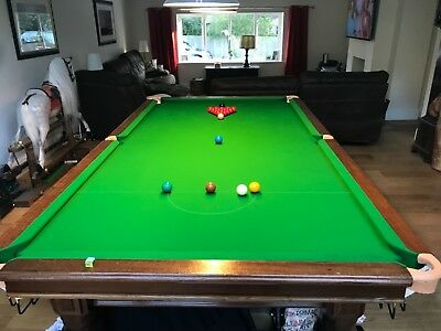 3/ 4 snooker table 9x5 ft.