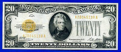 --FR-2402 1928 $20 Gold Certificate (( Extremely-Fine )) # A28045139A