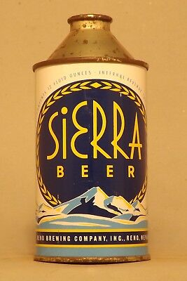 Awesome Indoor Sierra IRTP Cone Top Beer Can - Reno, NV - No Reserve!