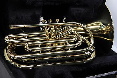 Vincent Bach Mercedes Marching Trombone 883 Flugabone with Case and Mouthpiece