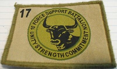 10th Force Support Battalion(10FSB), 17 Bde, Australian army unit military patch