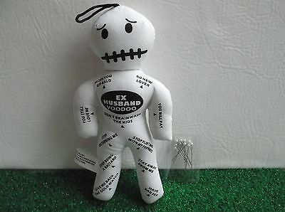 Voodoo Doll - Ex Husband with Pins, Breakup, Halloween