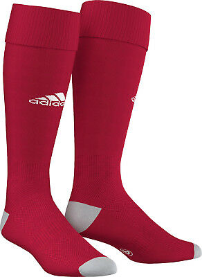 Socks Football/ Soccer Adidas Milano 16 Sock Red 4 Sizes Kids To Adult