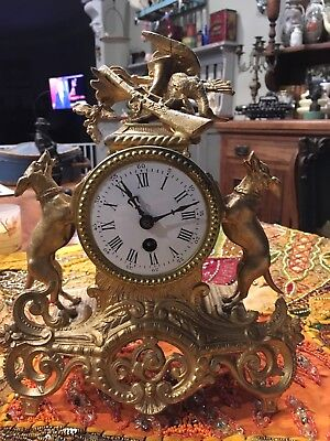 Antique French Style Clock