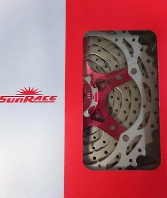 Sunrace Cassette CSRX 11 / 28 Silver alloy spider all 10 speed spacing