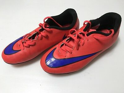 Boys Youth Nike Mercurial football soccer boots shoes size US 5Y UK 4.5 GUC