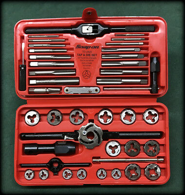 Snap-on Tools 41 Piece SAE Tap and Die Set TD-2425
