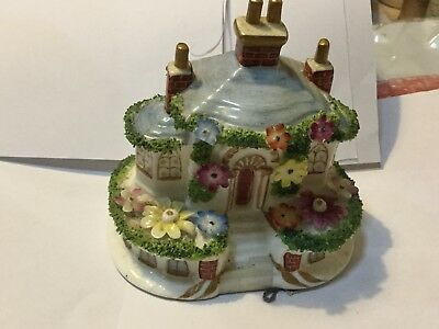 """Coalport Pottery """"keepers Cottage A Few Small Chips"""