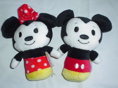 Hallmark Itty Bittys  Disney Mickey & Minnie Mouse  NO TAGS