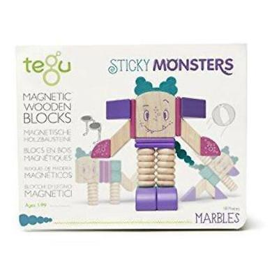 Tegu - Sticky Monsters Marbles (16 Pieces)