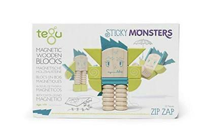 Tegu - Sticky Monsters - Zip Zip (12 Pieces)