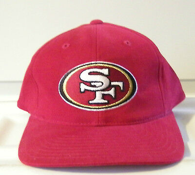 NFL Football ANNCO San Francisco 49ers Snapback Hat Cap Pre-Owned