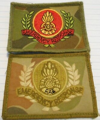 Emergency Response, Engineers (RAE) Australia,  Army Unit Patch pair