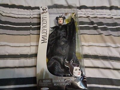 DISNEY Maleficent Dark Beauty Doll Angelina Jolie 2014 Jakk Pacific NIB
