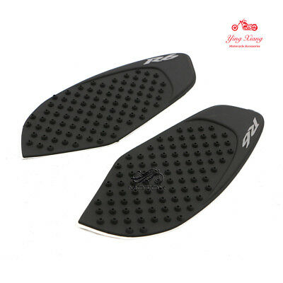 Rubber Traction Tank Pads Anti Slide Tank Pads Fit For Yamaha YZF-R6 2008-2016