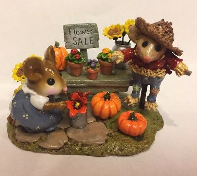 Wee Forest Folk Fall Garden Center Special Limited Retired