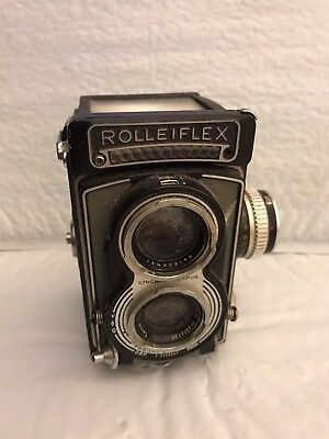 Vintage Rolleiflex Film Camera as-is for parts