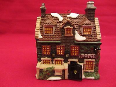 Dept 56 Dedlock Arms Ornament 1994, with box Dickens Collectors Edition  (v715)