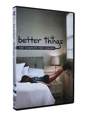 Better Things The Complete First Season (DVD, 2017, 2-Disc Set) Brand New Sealed