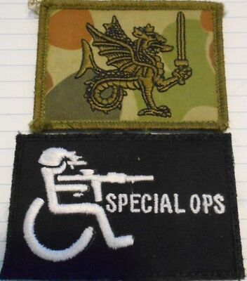 Special Forces -Middle East - Sniper cell SAS CDO SOLN SOCOMD,  Unit Patch